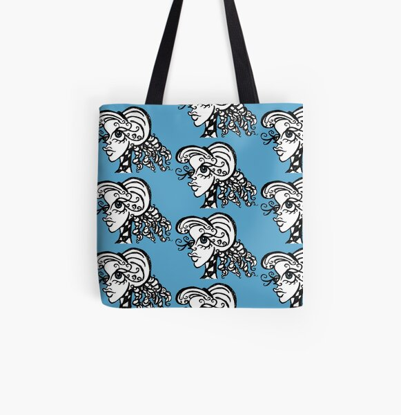 Abstracty #1 All Over Print Tote Bag