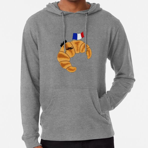 French Croissant Lightweight Hoodie