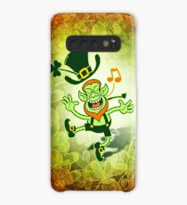 Irish Leprechaun Dancing and Singing Case/Skin for Samsung Galaxy