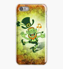 Irish Leprechaun Dancing and Singing iPhone Case/Skin