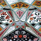 Ceiling of the Ganesh Gate  by Ethna Gillespie