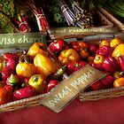 Food - Vegetables - Sweet peppers for sale by Michael Savad