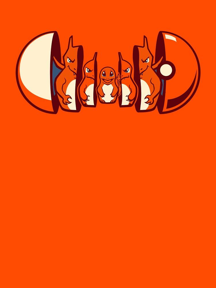 Poktryoshka - Fire Type | Unisex T-Shirt