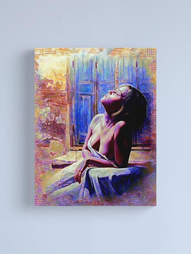 Alternate view of RIVIERA LIGHT Canvas Print