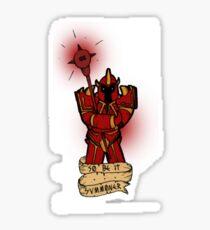 League of Legends Dragon Knight Mordekaiser (So be it... Summoner) Sticker