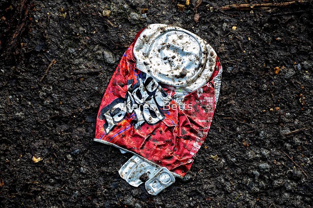 8/52 ~ Flat as a can  by Karen  Betts
