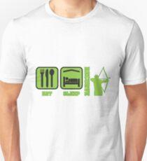 EAT SLEEP RECURVE T-Shirt