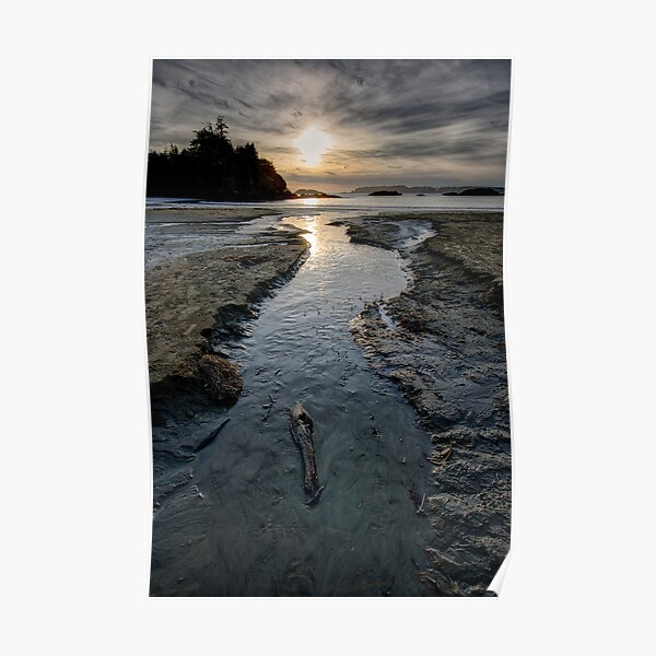 The Stream at McKenzie Beach Poster