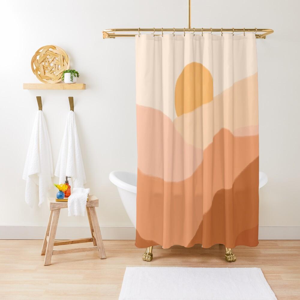 Warm Sunset Shower Curtain