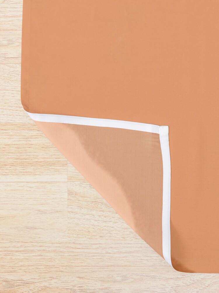 Alternate view of Warm Sunset Shower Curtain