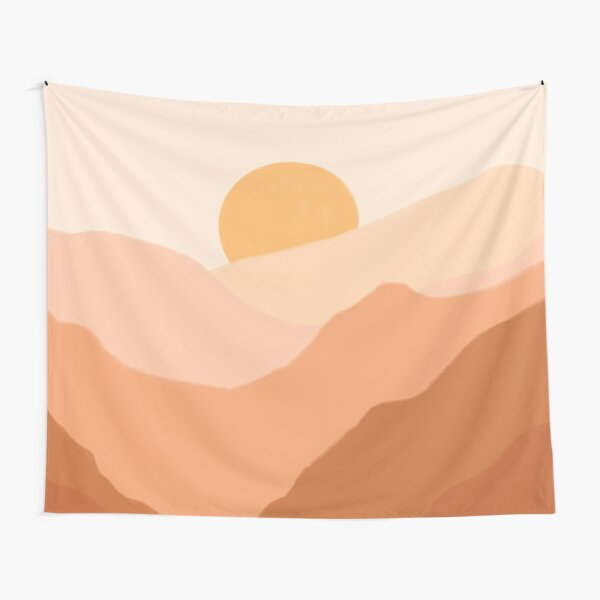 Warm Sunset Tapestry