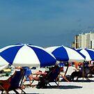 Clearwater Beach Umbrellas by Diane Trummer Sullivan