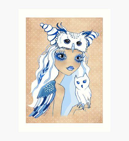 Owl Duchess ~ Sketch Art Print