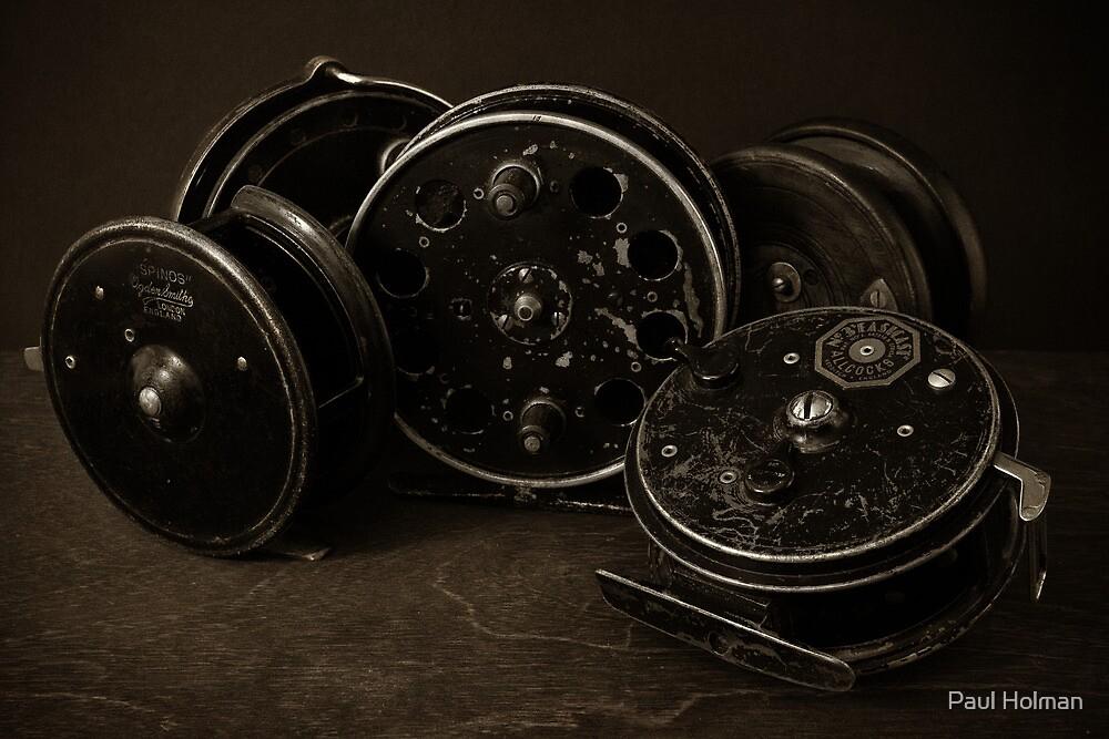 Vintage CentrePins by Paul Holman