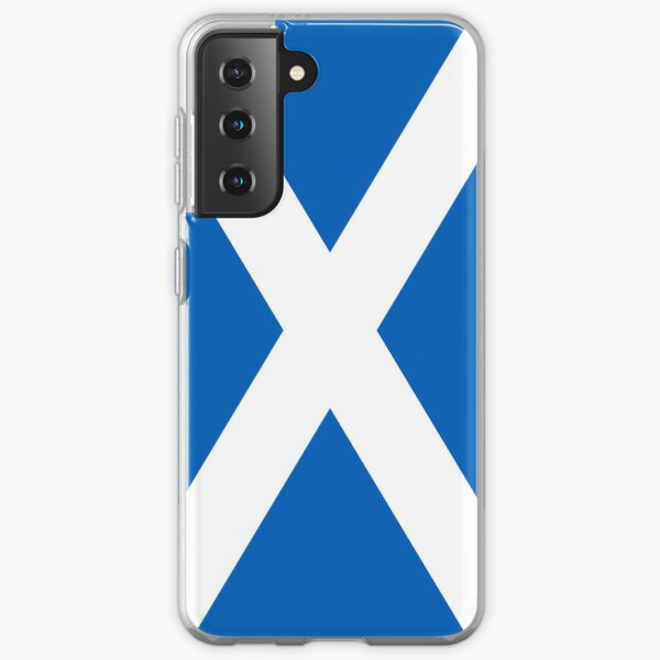 Flag of Scotland - Scottish Flag Samsung Galaxy Soft Case