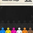 Reservoir Dogs Modernist Book Cover Series  by Creative Spectator