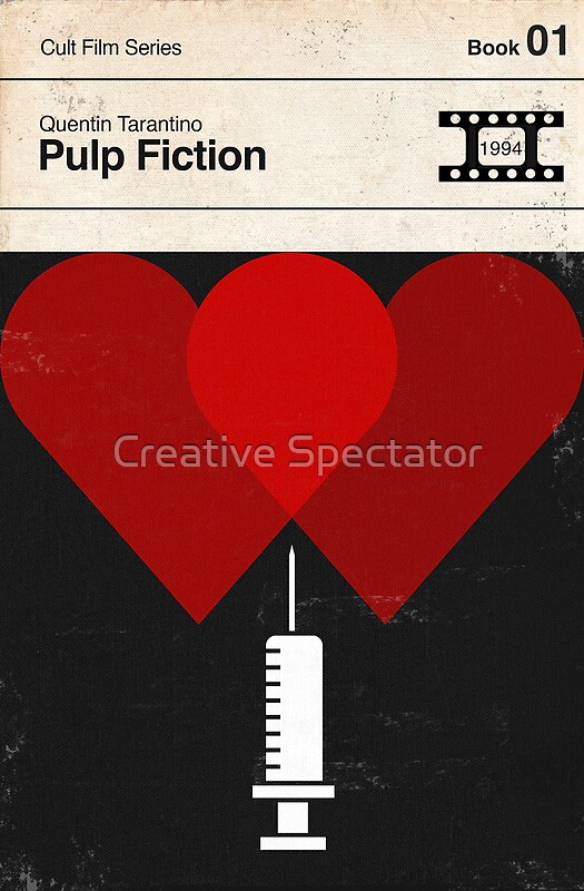 Pulp fiction modernist book cover series posters by for Bureau 13 book series