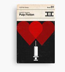 Pulp Fiction Modernist Book Cover Series  Canvas Print