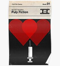 Pulp Fiction Modernist Book Cover Series  Poster