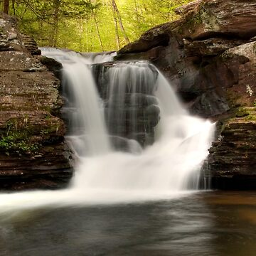 In The Refreshing Spray Of Murray Reynolds Falls by ProfAudio