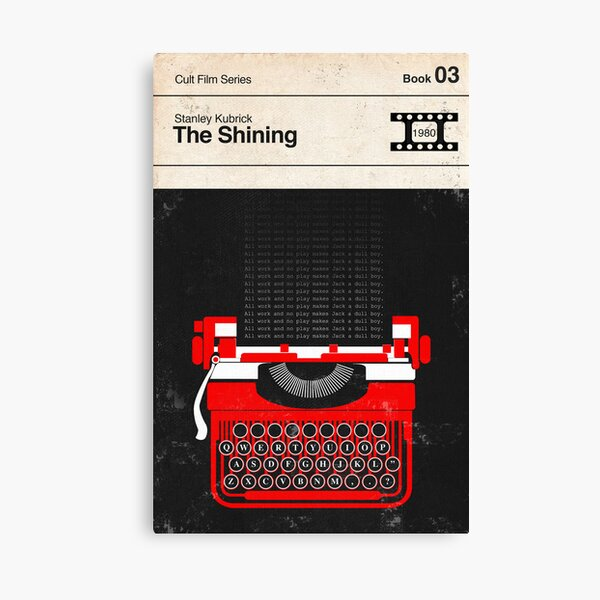 The Shining Modernist Book Cover Series  Canvas Print