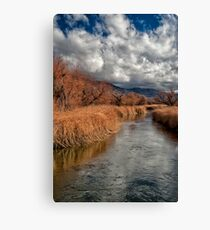 Clouds over Lower Owens Canvas Print