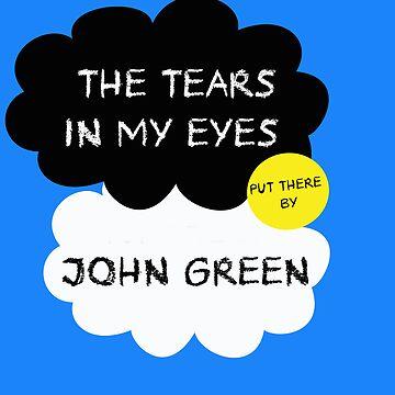 Tfios John Green Cover parody shirt. by Colferninja