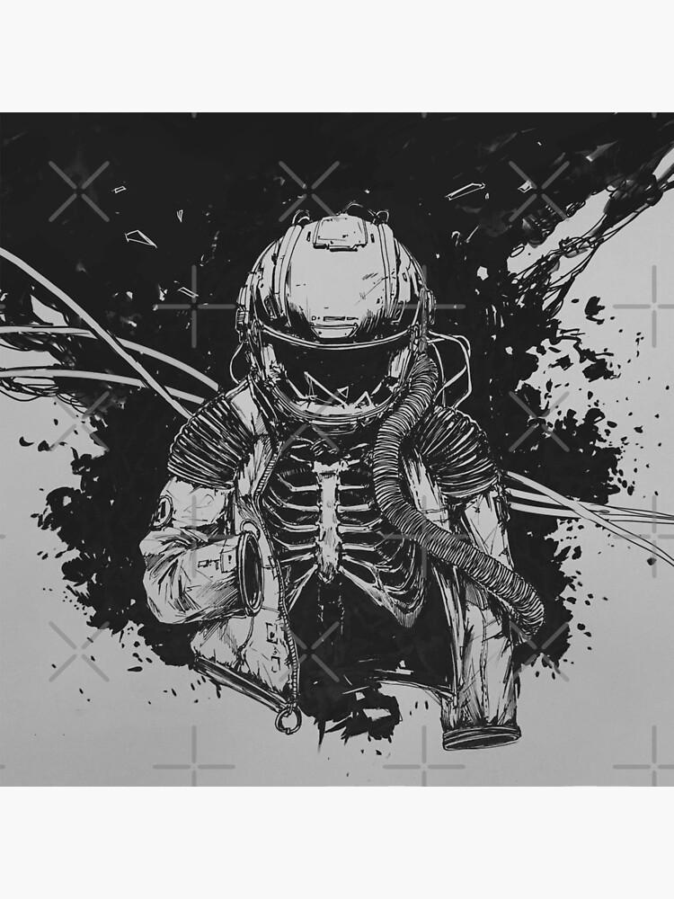 Dead Astronaut by NinjaJo