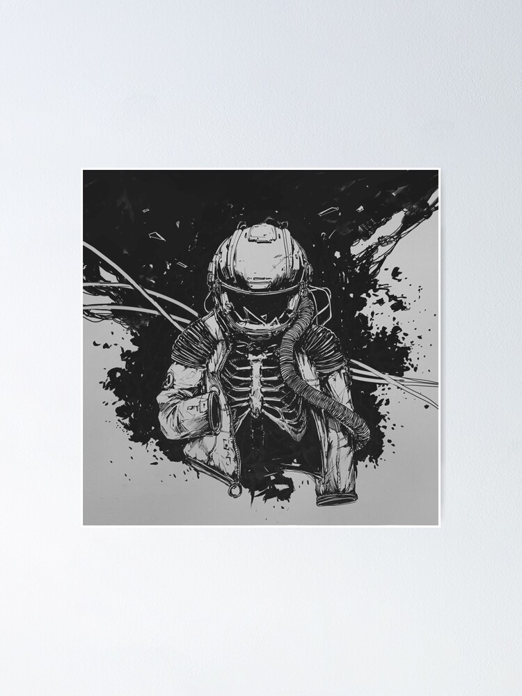 Alternate view of Dead Astronaut Poster