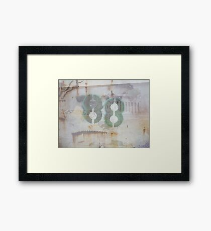 88 (available in ipad case) Framed Print