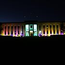 National Film and Sound Archive,  Canberra Australia by Kym Bradley