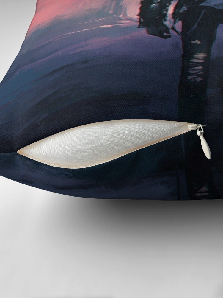 Alternate view of VR Bot Throw Pillow