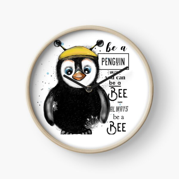 Be a Penguin Clock