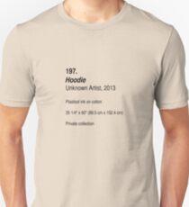 Hoodie, as art Unisex T-Shirt