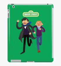 Puppety Sherlock and John iPad Case/Skin