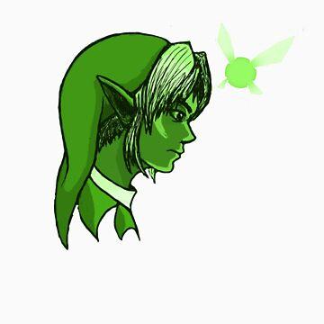 Link and Navi by Smodgson