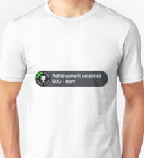 Xbox Achievement - Born Unisex T-Shirt