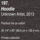 Hoodie, as art (Dark) by ubiquitoid