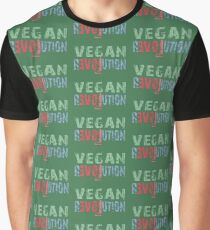 VEGAN REVOLUTION - vegan, vegetarian, animal rights, cruelty to animals Graphic T-Shirt