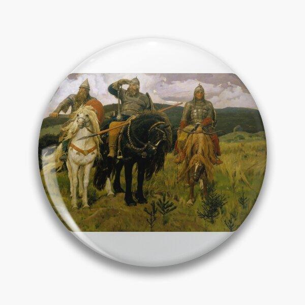 «Богатыри» — Добрыня Никитич, Илья Муромец и Алёша Попович (Картина В. М. Васнецова, 1881—1898) Pin