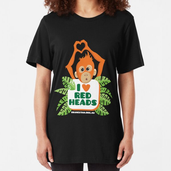 I Love Heart Orangutans Kids T-Shirt