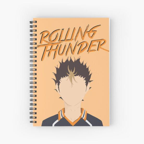 Nishinoya Yuu Minimal Spiral Notebook