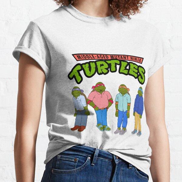 Middle-Aged Mutant Ninja Turtles Classic T-Shirt