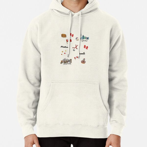 Canadian staples  Pullover Hoodie