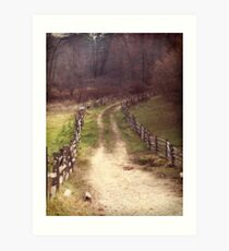 Sturbridge Path Art Print