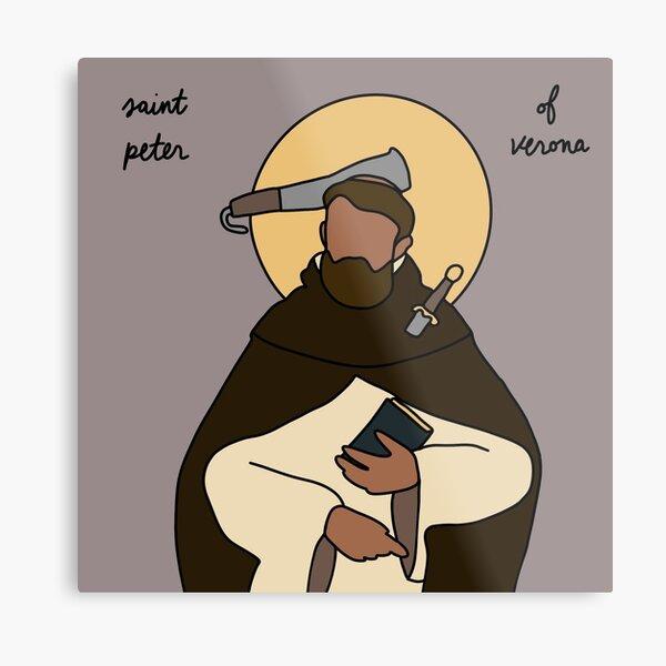Saint Peter of Verona Metal Print