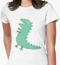 Camiseta entallada para mujer Sr. Dinosaurio