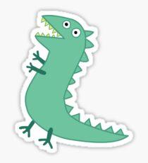 Mr Dinosaur Sticker