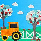 Tractor Farm by HannahCo