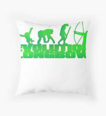 EVOLUTION LONGBOW Throw Pillow